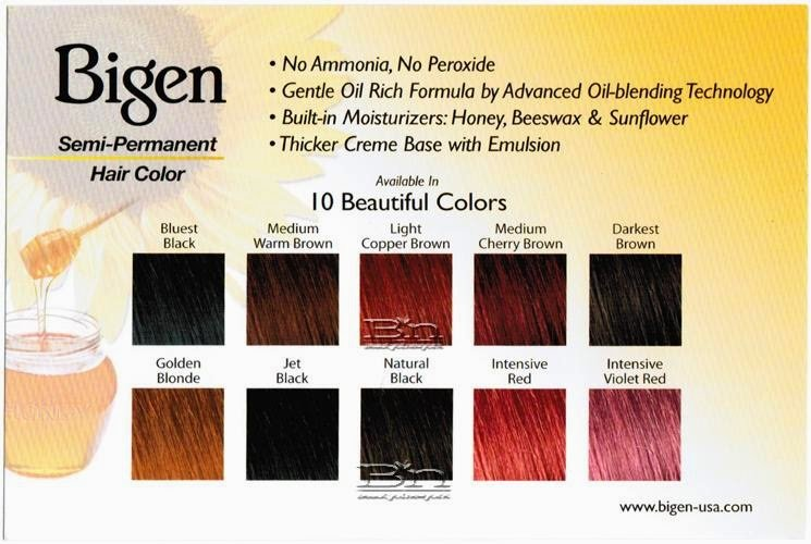 Product Review Bigen Semi Permanent Hair Color Flor Bella Boutique