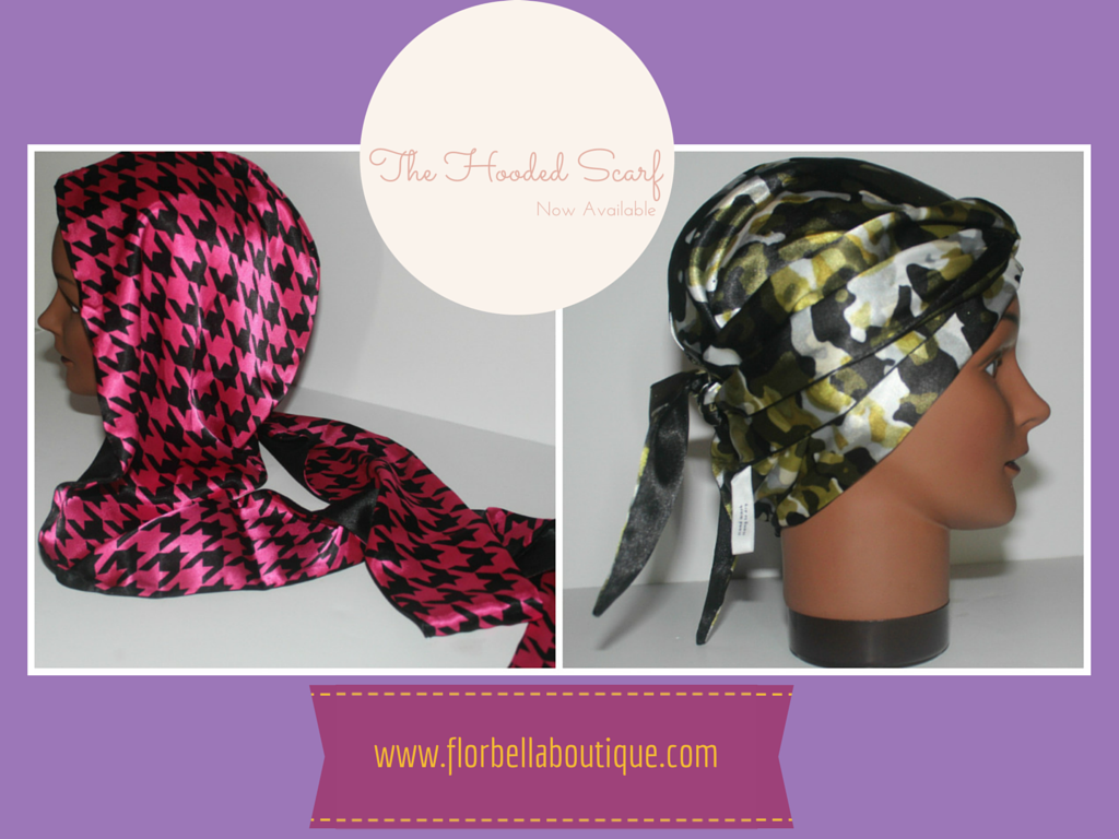 New Product: The Hooded Scarf
