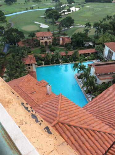 biltmore hotel pool view