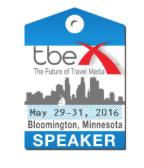 I am speaking at TBEX!!!!